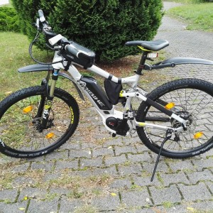 Haibike Fullseven RX mit Smart Sam Plus 10