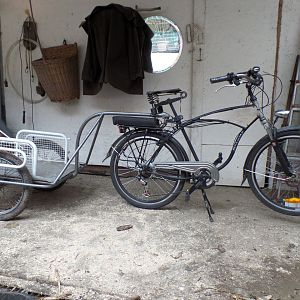 Schwinn Work-Mate and Trailer