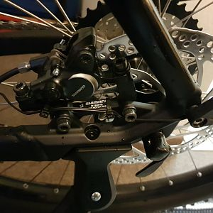 Shimano BR-M315, Hydr. Disc Brake (180/180)