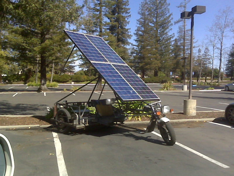e bike mit photovoltaik modul projektarbeit pedelec forum. Black Bedroom Furniture Sets. Home Design Ideas