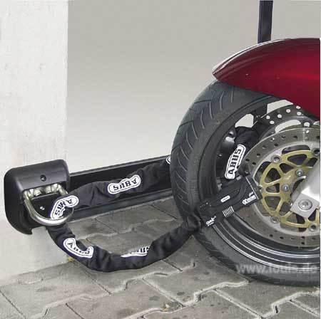 Pedelec in tiefgarage anketten pedelec forum - Antirrobo moto garaje ...