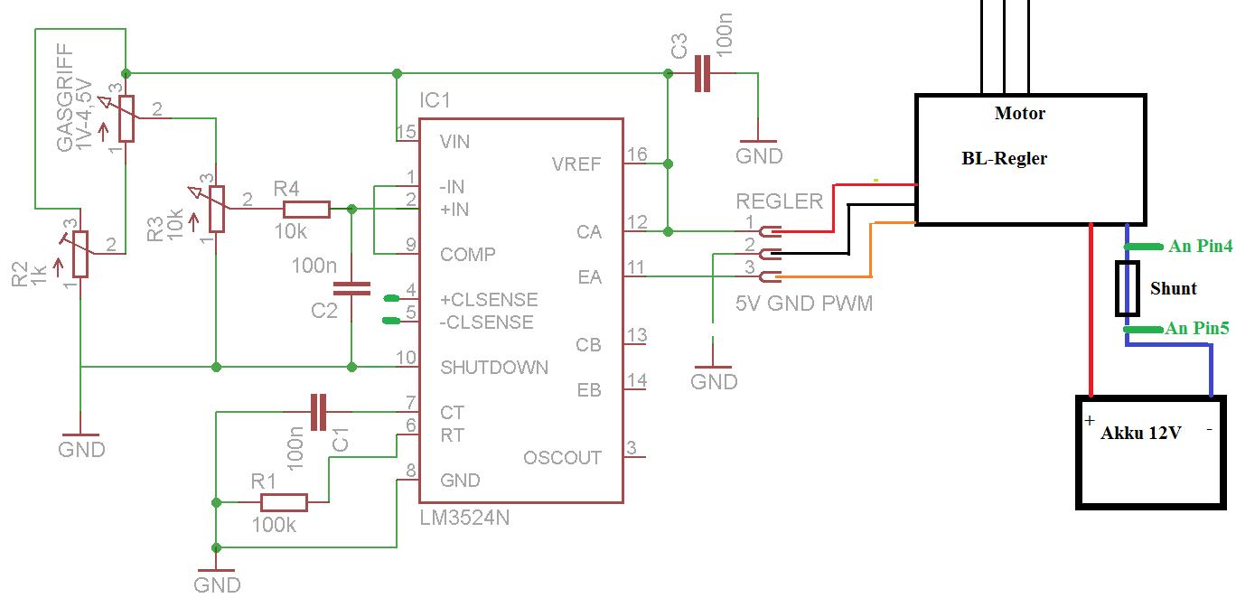 Beste Gleichstrommotor Schaltplan Bilder - Elektrische Schaltplan ...