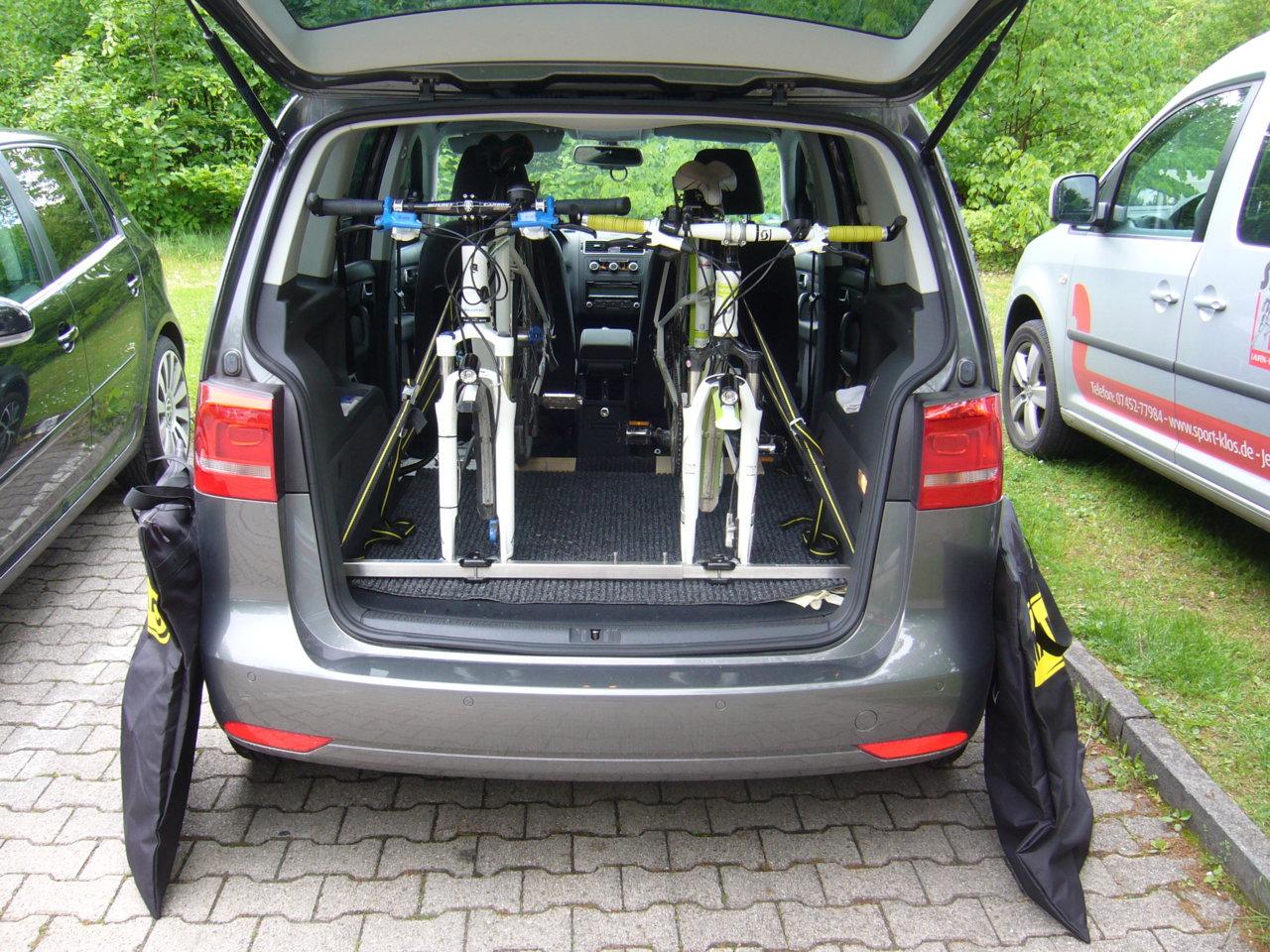 fahrradtransport im auto wie geht ihr mit der. Black Bedroom Furniture Sets. Home Design Ideas