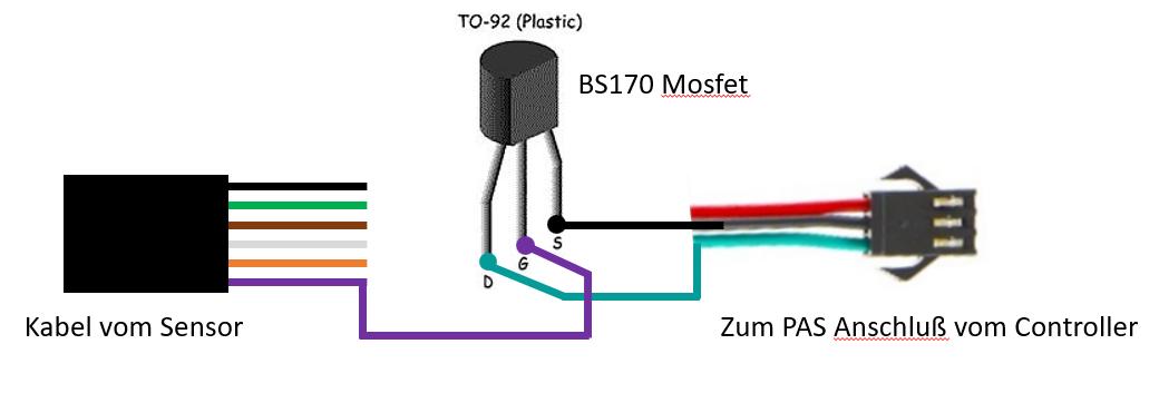 BS170 Mosfet für PAS Anschluß Bafang-Sensor.PNG