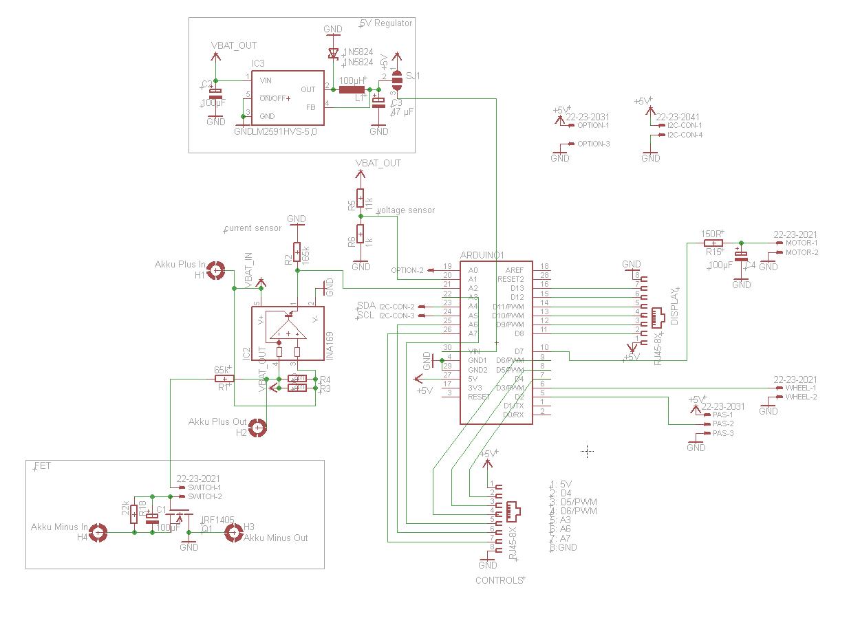 charmant elektrofahrrad schaltplan ideen
