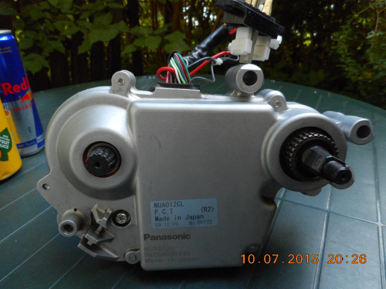 Erledigt Panasonic Motor F R E Bike Pedelec 26v 250