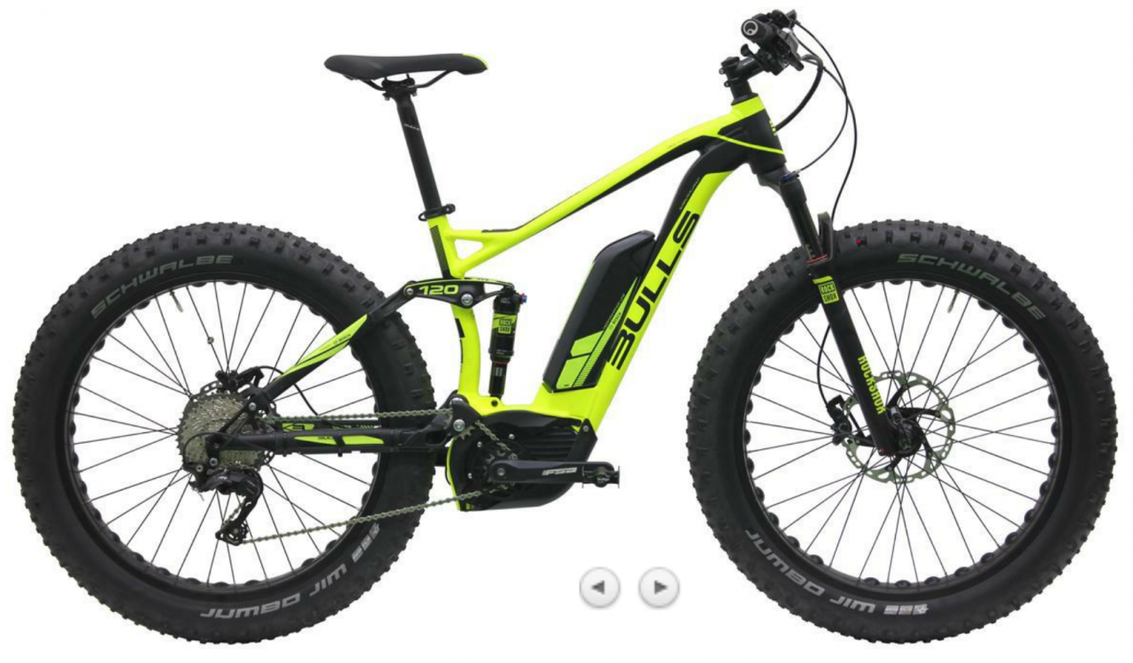 bulls bulls monster e fs 2016 das fully fatbike. Black Bedroom Furniture Sets. Home Design Ideas