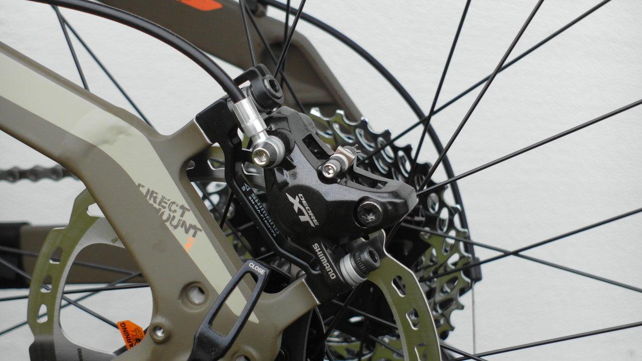Shimano XT BR-M8000 Scheibenbremse vorn und hinten mit oder ohne Scheiben