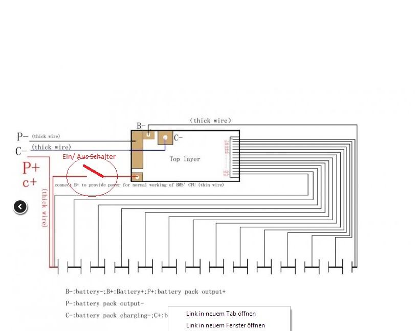 SmartBMS modifizieren - mit Ein/Aus Schalter | Pedelec-Forum