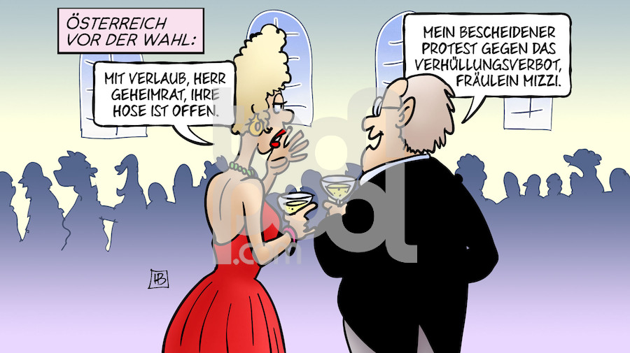 österreich Vermummungsverbot